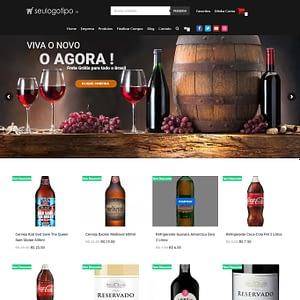 Loja Virtual de Bebidas