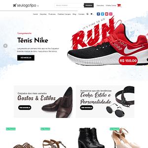 Loja Virtual de Calçados e Acessórios