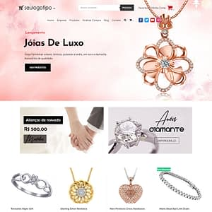 loja virtual jóias