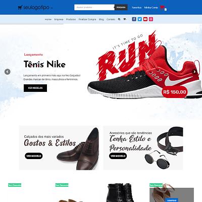 Loja Virtual de Esportes e Calçados